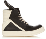 Rick Owens Geobasket high-top leather trainers