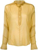 Etoile Isabel Marant Étoile Louna blouse - women - Cotton/Polyester - 36