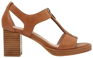 Jane Debster Abigail Tan Glove Sandals