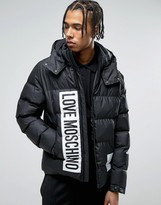 Love Moschino Padded Jacket with Hood