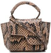 Atelier Atp Montalcino snakeskin print mini bag