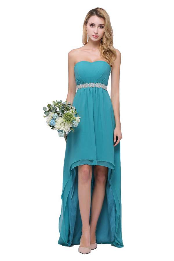 26c14b039ddfd Chiffon Gown Turquoise - ShopStyle Canada
