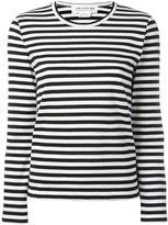 Comme des Garcons striped long sleeve T-shirt - women - Cotton - M