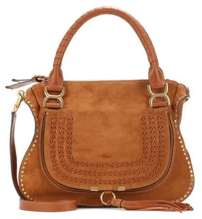 Chloé Marcie Medium suede shoulder bag