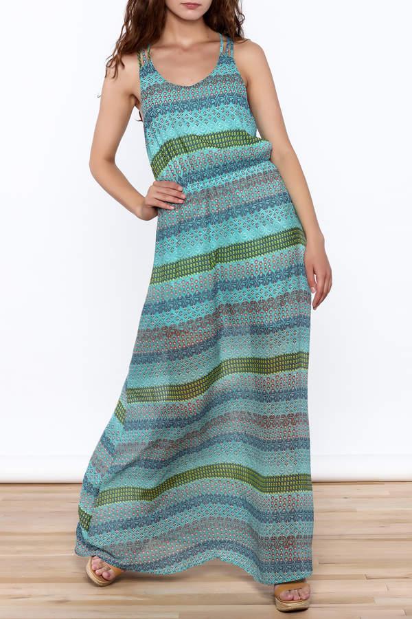 Umgee USA Anne Sleeveless Maxi Dress