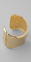 Kenneth Jay Lane Polished V Cuff