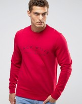 Jack Wills Barmby Crew Sweatshirt Chest Logo