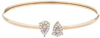 Anissa Kermiche 14K yellow gold diamond cuff