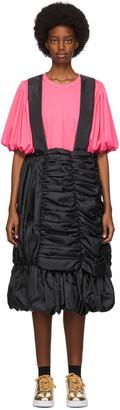 Comme des Garcons Black Taffeta Suspender Skirt