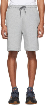 Nike Grey Tech Fleece Sportswear Shorts