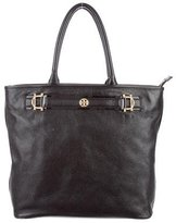 Tory Burch Grained Leather Tote