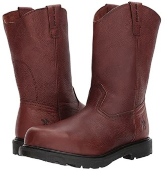 Iron Age Hauler Pull-On (Brown) Men's Work Boots