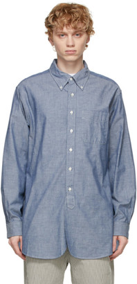 Engineered Garments Blue Chambray 19th Century BD Shirt