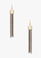 Bebe Multi Chain Tassel Earring