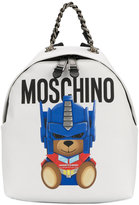 Moschino toy bear backpack - women - Leather - One Size