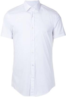 HUGO BOSS Short Sleeve Button-Up Shirt