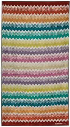 Missoni Home Yannis zigzag beach towel