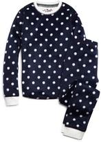 PJ Salvage Girls' Polka Dot Pajama Set