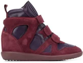 Isabel Marant Buckee hidden-heel sneakers
