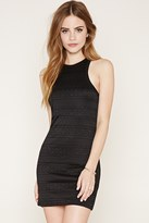 Forever 21 FOREVER 21+ Floral Lace Bodycon Dress