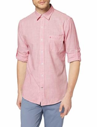 Izod Men's Dockside Bengal Stripe Shirt Casual