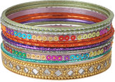 Colorful Shimmer Bangles