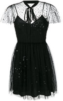 RED Valentino sequin embellished mini dress
