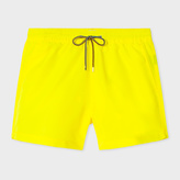 Paul Smith Men's Yellow Swim Shorts