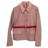 Miu Miu Pink Viscose Coat