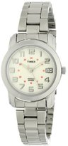Timex Women's T2N432 Elevated Classics Sport Chic Silver-Tone Bracelet Watch