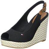 Tommy Hilfiger E1285lena 57d, Women's Wedge Heels Sandals,6.5 UK ( EU)