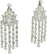 One Kings Lane Vintage Givenchy Chandelier Earrings