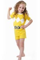 Intimo Power Ranger Yellow Mighty Mophin Cotton Short Pajama Set (Little Boys & Big Boys)