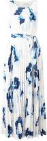 Jacques Vert Print Plise Maxi Dress