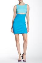 Amanda Uprichard Crop Slit Front Dress