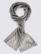 Marks and Spencer Cable Scarf