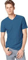 Kenneth Cole Reaction T Shirt, Slub V Neck Tee Shirt