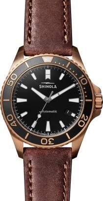Shinola Monster Automatic Strap Watch, 43mm