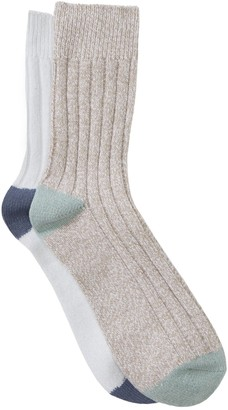 Abound Marled Knit Boot Socks - Pack of 2