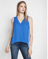 Express cut-out split back tank