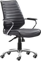 ZUO Enterprise Low Back Office Chair