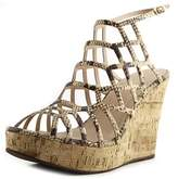 Nine West Sabrina 50 Open Toe Synthetic Platform Sandal.