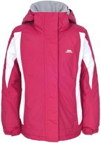 Trespass Childrens Girls Josie Zip Up Waterproof Jacket