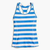 J.Crew New Balance® for striped tank top with built-in sports bra