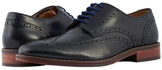 Florsheim Salerno Wingtip Oxford (Black Smooth) Men's Lace Up Wing Tip Shoes