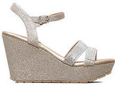 Kenneth Cole Sole Berry Metallic Wedge