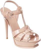 Saint Laurent Classic Tribute 105 Patent Sandal