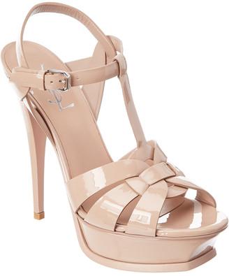 Saint Laurent Tribute 105 Patent Sandal