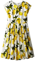 Dolce & Gabbana Limoni Interlock Dress (Big Kids)