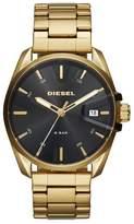 Diesel MS9 Men's Gold Tone Stainless Steel Bracelet Watch